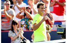 Vasek Pospisil is probably the hottest tennis player alive