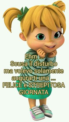 Ti auguro buona giornata Italian Greetings, Italian Memes, Honeymoon Planning, Day For Night, Smile Face, Good Morning Quotes, Humor, Cake, Pocahontas