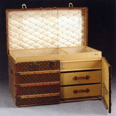 Louis Vuitton trunk, $34,500, James D. Julia - The Journal of Antiques and Collectibles