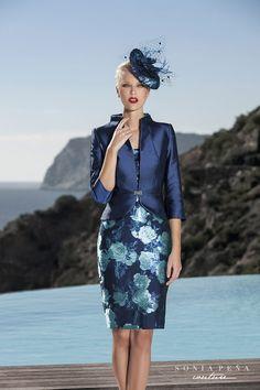 Sonia Peña Couture, vestidos de fiesta, noche y coctel. Trajes cortos, noche y bodas.