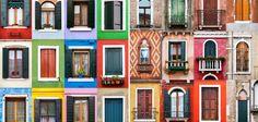 """""""Assim como as estruturas das casas, elas mudam de região para região; então eu compilei centenas de fotografias e criei o projeto""""."""
