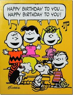 """ from Charlie Brown, Snoopy, & the Whole Peanuts Gang! Happy Birthday To You, Happy Birthday Messages, Happy Birthday Quotes, Happy Birthday Images, Happy Birthday Greetings, Birthday Pictures, Snoopy Birthday Images, Peanuts Happy Birthday, Grandma Birthday"