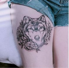 130+ Best Wolf Tattoos for Men (2021) - Howling, Lone, Tribal Designs Animal Tattoos For Men, Wolf Tattoos Men, Tribal Wolf Tattoo, Tattoos For Guys, Tattoos For Women, Tattoo Women, Large Tattoos, Mini Tattoos, Rose Tattoos