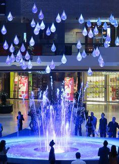 Installation - fontaine - Complexe Desjardins
