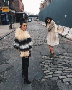 Kourtney and Kylie Take New York #kourtneyk #kardashians