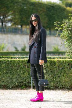 Gilda Ambrosio #GildaAmbrosio | C'est Chic: Street Style from Paris