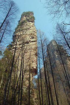 Zhangjiajie National Forest Park / Hunan Zhangjiajie National Forest Park, Zhangjiajie, Hunan, China GPS: 29.327414, 110.415977