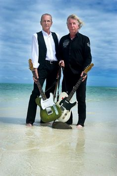 Francis Rossi & Rick Parfitt from Status Quo.