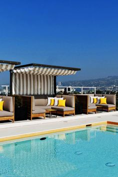 What We Love: a splashy pool in the heart of LA (right on Wilshire Boulevard).  The Hotel Wilshire, a Kimpton Hotel (Los Angeles, California) - Jetsetter