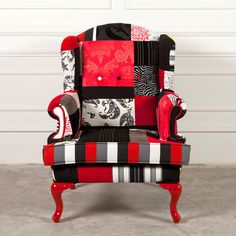Patchwork Chair Design by patchwork4home on Etsy, $850.00