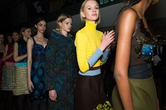 Mary Katrantzou Fall 2015 rtw - behind the scenes