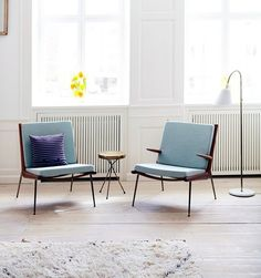 We have a huge Mid-Century Modern fan on our staff.  She would do anything for these chairs.