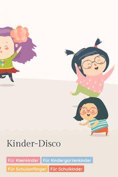 Musik an und los geht's! Mit Tanzen kann man alle Sorgen und die Anspannung einfach abschütteln und wegzappeln und gute Laune ins Wohnzimmer bringen. Blues, Movies, Movie Posters, Children Dancing, Auditory Processing, School Kids, Good Mood, Game Ideas, Toddlers
