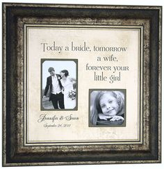Cute idea for the brides gift from her parents!!