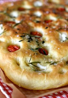 Foccacia in Finnish by Belle Baie. Gourmet Recipes, Baking Recipes, Real Food Recipes, Yummy Food, Bread Recipes, Quiche, Food C, Savoury Baking, I Foods