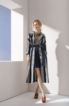 Could I make a coat? Spring Summer 2018, Chic Outfits, Duster Coat, How To Wear, Jackets, Inspiration, Collection, Designers, Passion