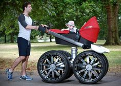 For Dad Baby Stroller, made based on survey by Skoda