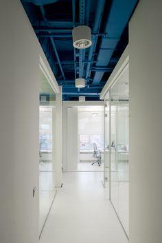 Optimedia office on Behance
