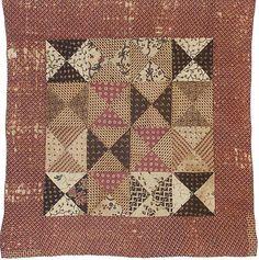 Civil War Quilts: Stars in a Time Warp 25: Wood Block Prints