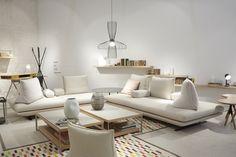 Prado by Christian Werner, ligne roset Ligne Roset, Prado, Sofa Design, My Living Room, Home And Living, Sofa Furniture, Furniture Design, Casa Milano, Modern Furniture Stores