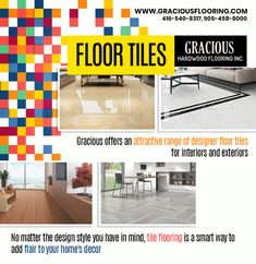 Gracious Hardwood Flooring Inc. offer an attractive range of designer Floor Tiles in Brampton for interiors and exteriors.  Visit our store located at 72 Devon Rd, Unit 12, Brampton, ON L6T 5E7, Canada  Phone: 416-540-8317, 905-458-8000  #FloorTilesinBrampton #TilesinBrampton #FloorTiles #Floor #Tiles #TileStoresBrampton #TileStore #FloorTilesforKitchen #FloorTilesOutdoor #TileFlooring #TilesFloors #TilesforFlooring #TilingforFloors #FloorTiling #FloorTilesWithPrice #FloorTilesPrice Tiles Price, Hardwood Floors, Flooring, Tile Stores, Devon, Interior And Exterior, Tile Floor, Range, Canada