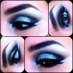 club/b-day makeup