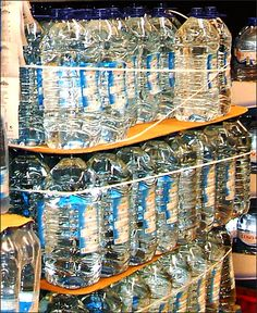 Bungee Corded Bottles Water Main