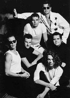 INXS--one of my fav bands ever. Saw them live in 1987 and was right up in front!