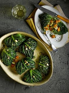 Stuffed Cabbage Rolls | Vegetable Recipes | Jamie Oliver