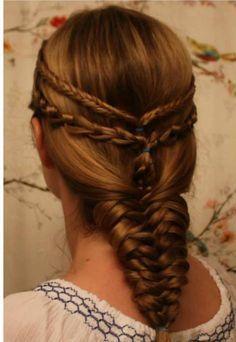 hair on Pinterest   Daenerys Targaryen, Medium Long Hair and Braids