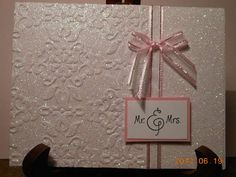 Card: Glittery Wedding Card