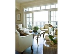 Penthouse at the Aberdeen in Vinings. Designer Carole Weaks takes her classic style to new heights