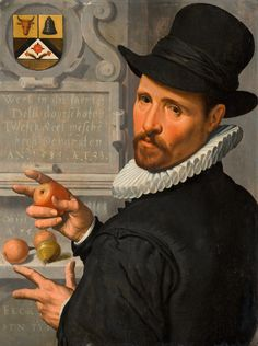 Pieter Pietersz, Portrait of Cornelis Cornelisz Schellinger probably 16th Century Fashion, 15th Century, Dutch People, Dutch Golden Age, Fantasy Setting, Grab Bags, Coat Of Arms, Cool Art, The Past