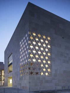 dezeen:  Ulm Synagogue byKister Scheithauer Gross  Photograph by Christian Richters