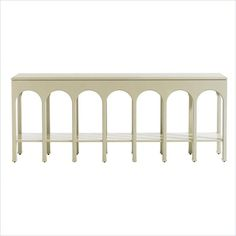 Crestaire-Brooks Console Table in Capiz - 436-25-05