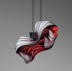 Lydia Hirte's Paper Jewellery Sculptures