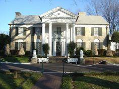 Graceland Mansion....Last Home Of Elvis Presley, Memphis, TN