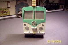 3 String Cigar Box Guitar -VW Bus Themed