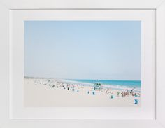 Santa Monica Blues by Jessica Cardelucci at minted.com