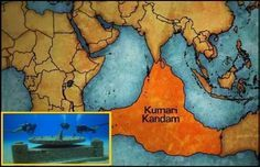 Land where humans first evolved 'Kumari Kandam' is now submerged in Indian Ocean!