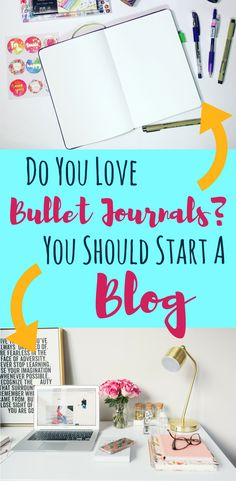 Do you have a favorite planner? Love bullet journals? Have you ever thought about sharing your passions with others by starting a blog? This post goes into why you should start a planner blog, how to start a blog, and the tools that have helped me with success in such a short time frame. Share your ideas and knowledge to help inspire other people who want to use a planner! #bulletjournal #planner #plannercommunity #blog #startablog