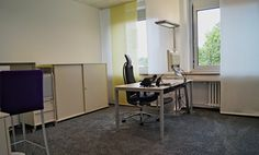 Zwei helle und moderne Büroräume direkt am Barbarossaplatz #Büro, #Bürogemeinschaft, #Köln, #Office, #Coworking, #Cologne