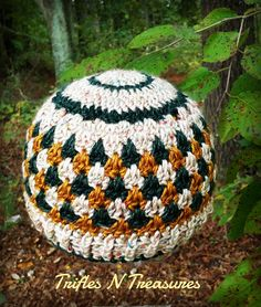 This beautiful crochet hat by Trifles N Treasures is designed to warm and comfort those going through chemotherapy. Make her Rustic Woods Chemo Cap with Lion Brand Heartland in Acadia Tweed, Kings Canyon, and Bryce Canyon and a size H-8 (5 mm) crochet hook.