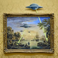 UK - Bristol - Banksy - UFO Invasion