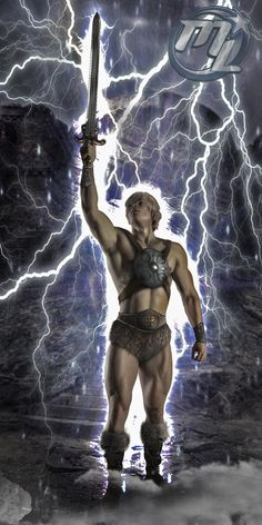 He-man by ~MLauNeim on deviantART --- If you know who he is than you are awesome! :D