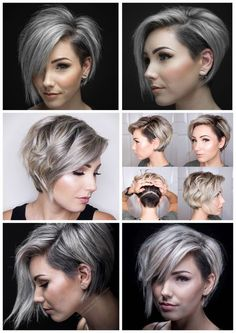 New Bob Haircuts 2019 & Bob Hairstyles 25 Bob Hair Trends for Women - Hairstyles Trends Mom Hairstyles, Short Bob Hairstyles, Haircut Short, Short Bob With Undercut, Bob Haircuts, Haircut Bob, High Low Haircut, Bob Haircut With Undercut, Short Hairstyles For Round Face