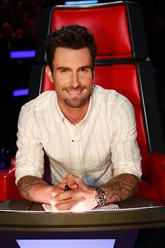 Your weekly dose of Adam Levine in the coach's chair! You're welcome! #TheVoice