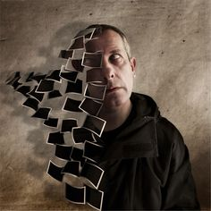 Talented French artist, Pierre Beteille , is skillful in manipulation of portraits (specially his own self portraits) using photoshop. Self Portrait Photography, Photoshop Photography, Creative Photography, Art Photography, Digital Photography, Concept Photography, Experimental Photography, Photoshop Art, Creative Photoshop
