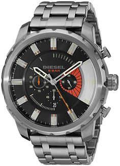 Diesel Men's DZ4348 Stronghold Analog Display Analog Quartz Grey Watch