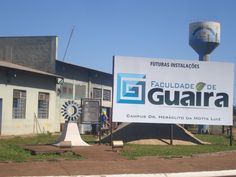 COMEÇAM AS OBRAS DE INSTALAÇÃO DA FACULDADE DE GUAÍRA